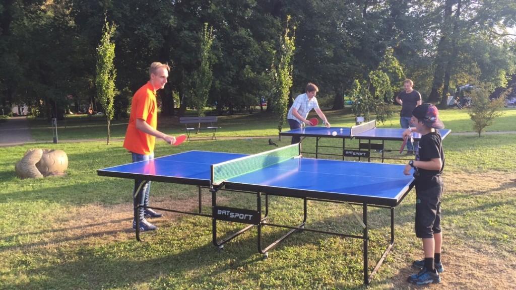 Turniej w tenisa stołowego